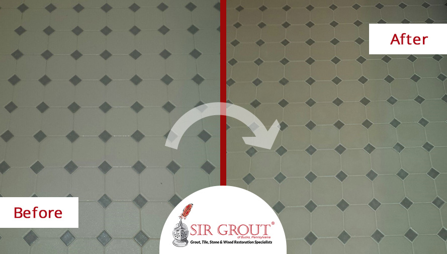This Homeowner Couldn\'t Believe Her Eyes When She Saw the Grout ...