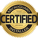 Microguard Installer Badge