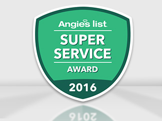 Super Service Award 2016 from Angies List Earned by Sir Grout Bucks, PA
