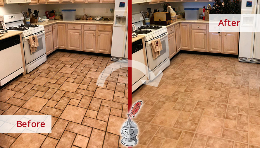 Our Team of Tile and Grout Cleaners Refreshed This Beautiful ...
